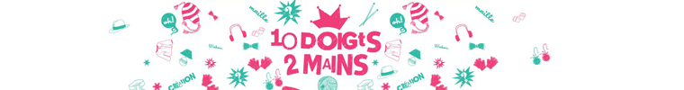 10 doigts 2 mains - Mitaines
