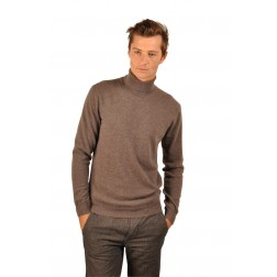 Pull col roulé William