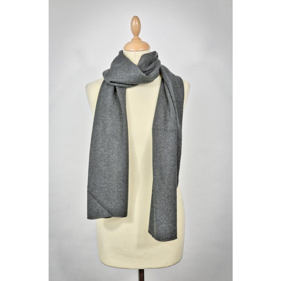 72fb315c3ea Echarpe cachemire personnalisable gris - Trendy Workshop